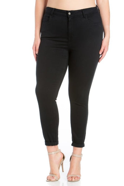 Cello High Rise Black Super Skinny Jean