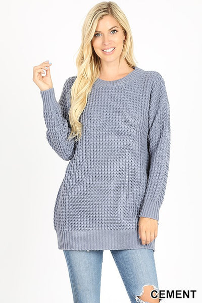 Low Gauge Knit Sweater