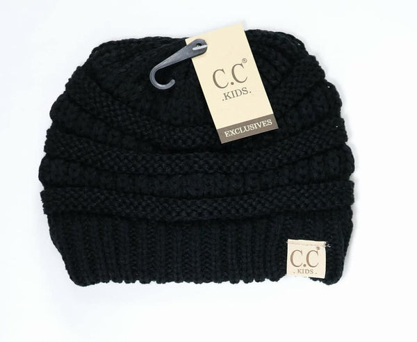 Kids Solid Classic CC Beanie