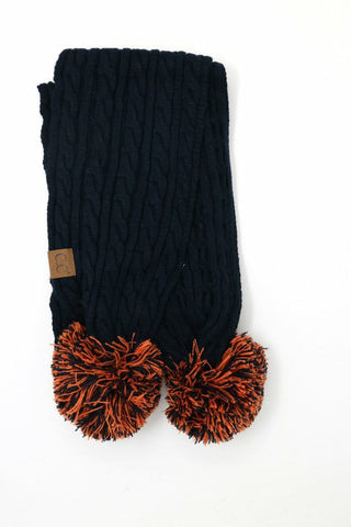 Game Day CC Pom Scarf