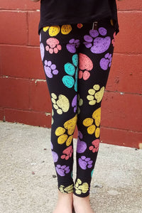 Paw Print Leggings Kids