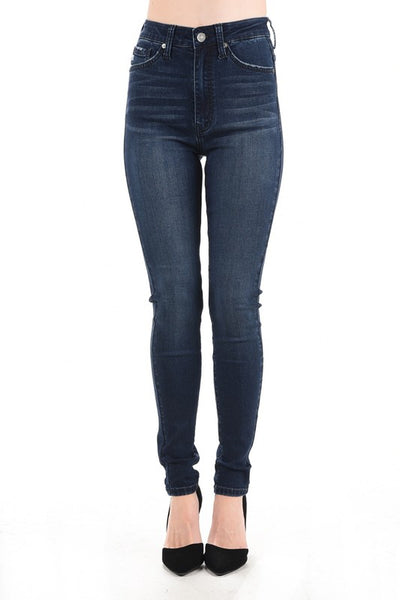 KanCan High Rise Dark Wash Skinny Jean