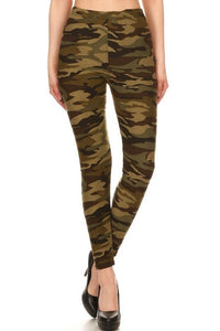 One Size Camo Leggings
