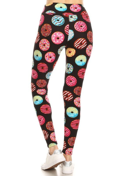 Plus Size Donut Leggings