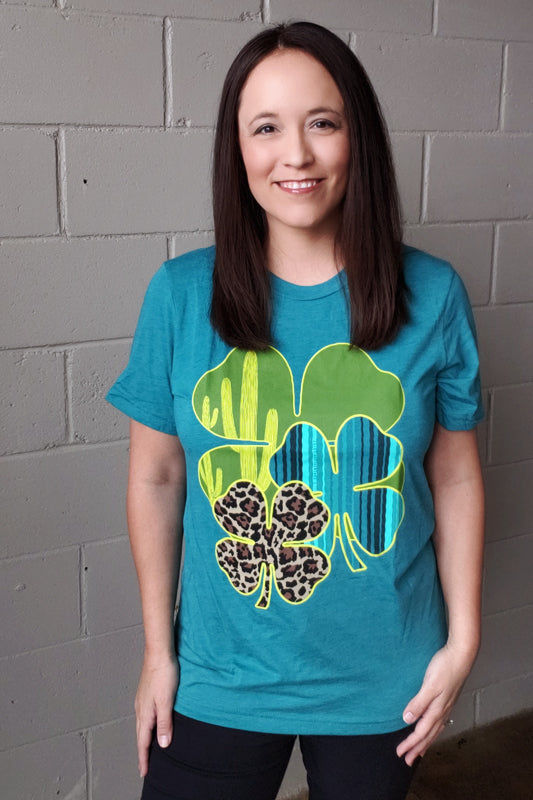 Clever Clover Tee