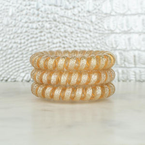 Hotline Hair Ties Champagne Set