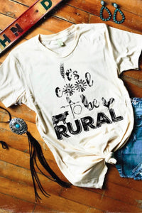 Cool to be Rural Tee