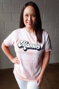 Groovy Mama Bleached Tee