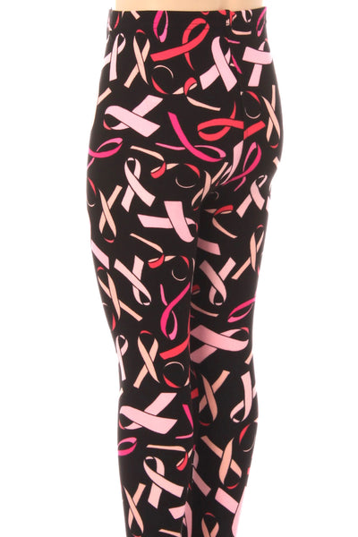 Breast Cancer Awareness Leggings Kids