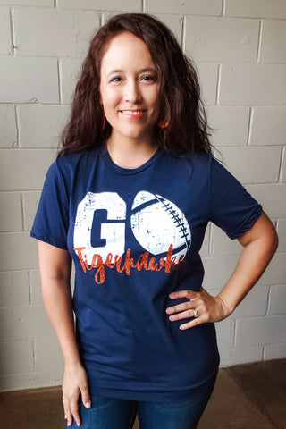 GO Tigerhawks Football Tee