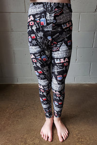 USA Graphic Leggings Kids