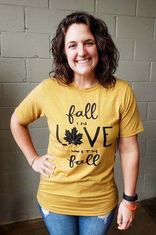 Fall in Love with Fall Tee