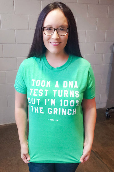 DNA Test 100% the Grinch Tee