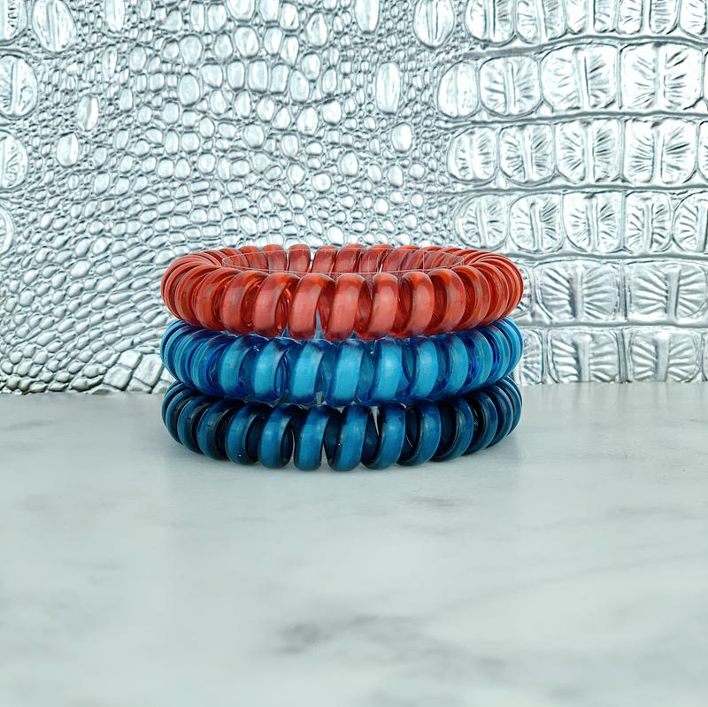 Hotline Hair Ties High Dive Reflective Set
