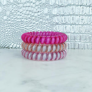 Hotline Hair Ties Hot Yoga Reflective Set