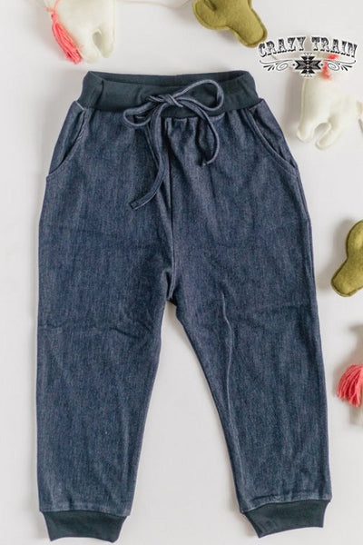 Crazy Train Caboose Kids Dandy Denim Jogger