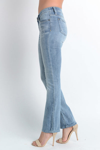 Judy Blue Curvy Bootcut Denim