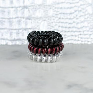 Hotline Hair Ties Lady Bug Mini Set