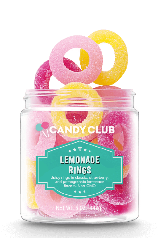 Candy Club Lemonade Rings