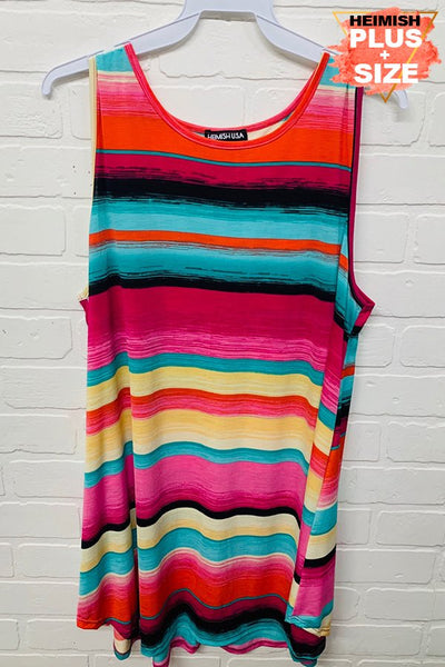 Serape Sleeveless Top