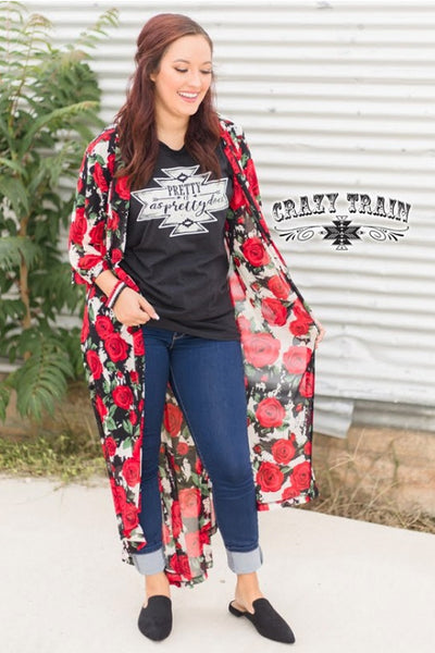 Crazy Train Queen of Hearts Duster