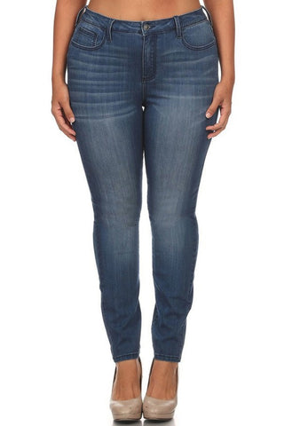 Cello Dark Denim Skinny Jean