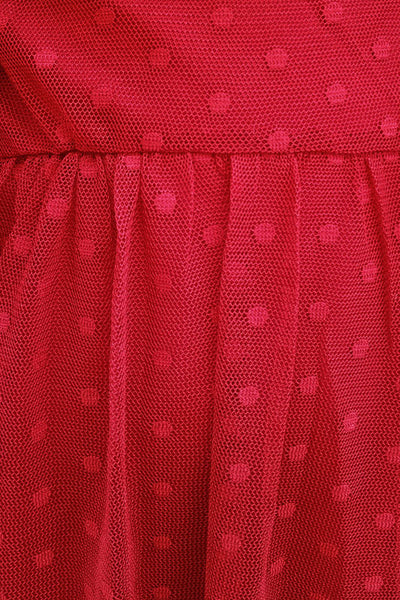 Kid's Polka Dot Tulle Dress