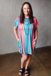 Crazy Train Sabado Serape Dress