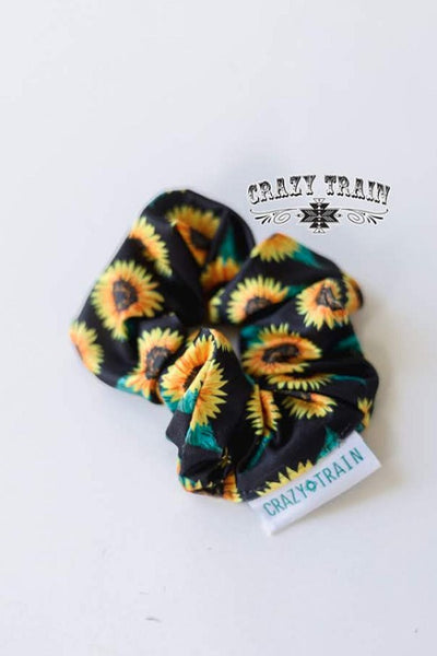 Crazy Train Brady Scrunchie