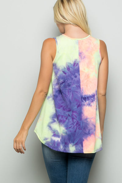 Pastel Dream Sleeveless Top