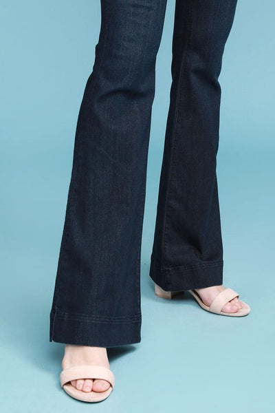 Judy Blue Dark Blue Fitted Trouser
