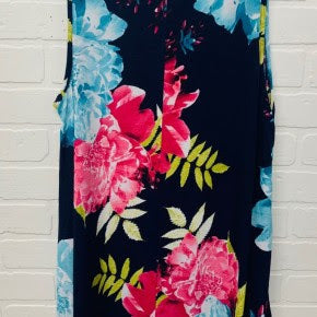 Summer Floral Sleeveless Top