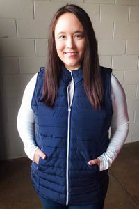 Quilted Vest with Pockets