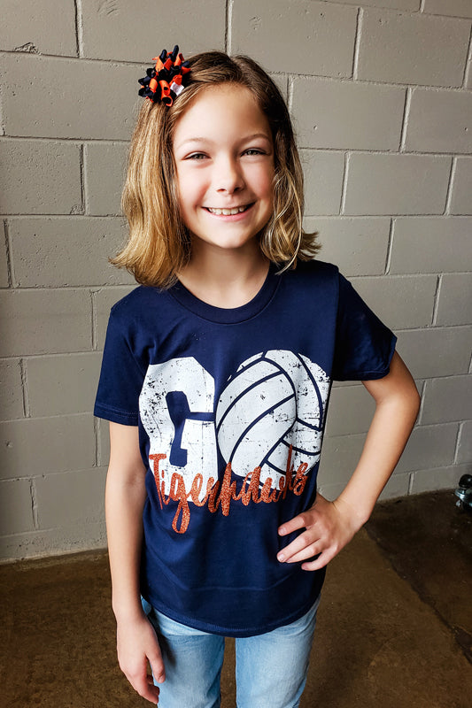 Kids GO Tigerhawks Volleyball Tee