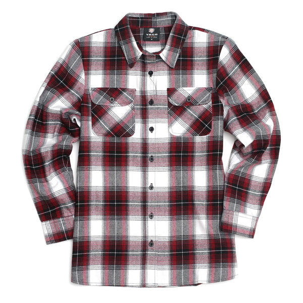 Plaid Outdoor Flannel Shirt