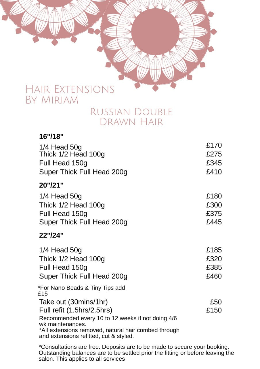Hair Extension Eyelash Extensions Prices In Surrey Body And