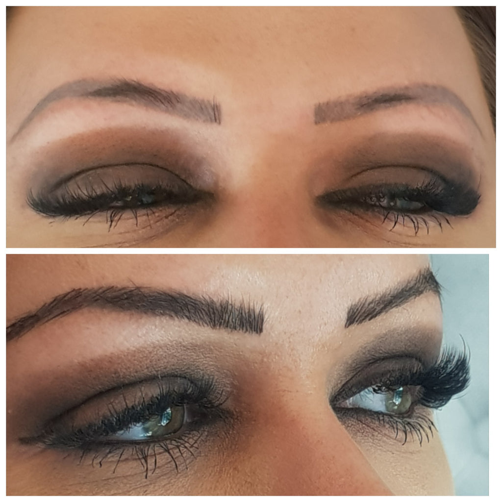 Eyebrow Extensions Body And Length Hair Extensions