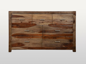 Chest of 7 drawers Enzo Light olive