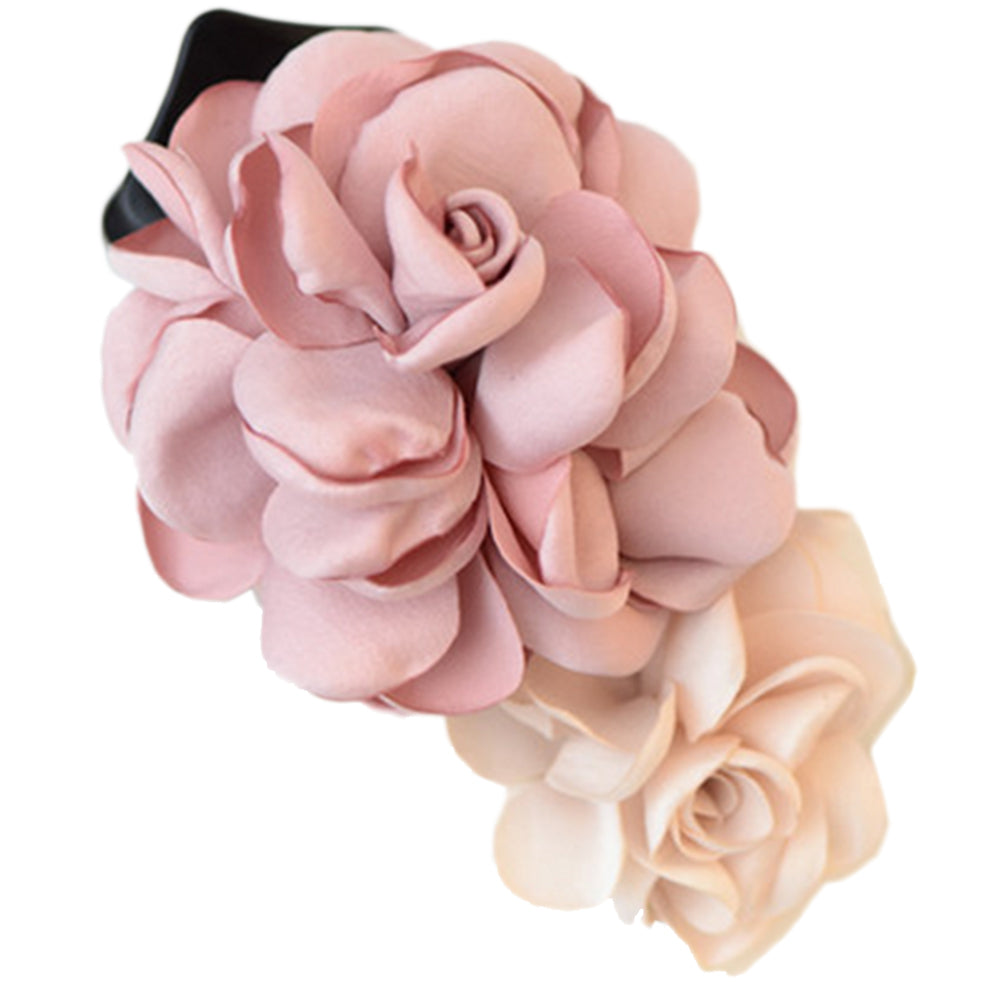 Mixed Colored Rose Hair Clip/ Hairpin (Pink) - MyRoseLife