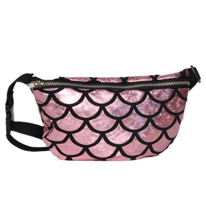 Xiniu Man and Women Waist Packs Roses Casual Double Color Sequins Unisex Chest Bag bolsa feminina Dropshipping#6M - MyRoseLife