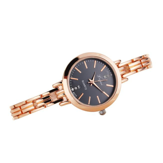 Rose Gold Classic Women's Quartz Stainless Steel Watch - MyRoseLife