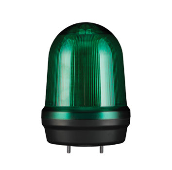 125mm WARNING LIGHT, 12/24VDC (Available in Red, Amber, Blue, Green) - Qlight