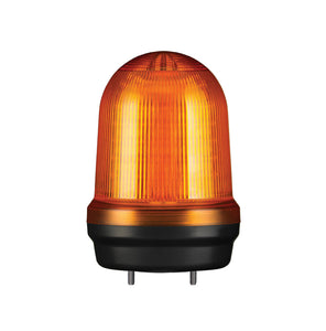 100mm WARNING LIGHT, 12/24VDC (Available in Amber, Red, Blue, Green) - Qlight