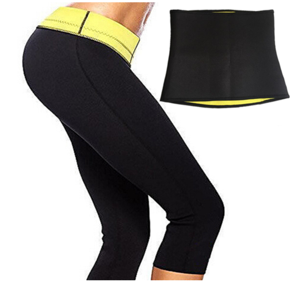 5ca7d9ea1880a SlimFitShapers Sweat Set (Hot Shaper Pant + Sweat Ab Belt) – Closet ...