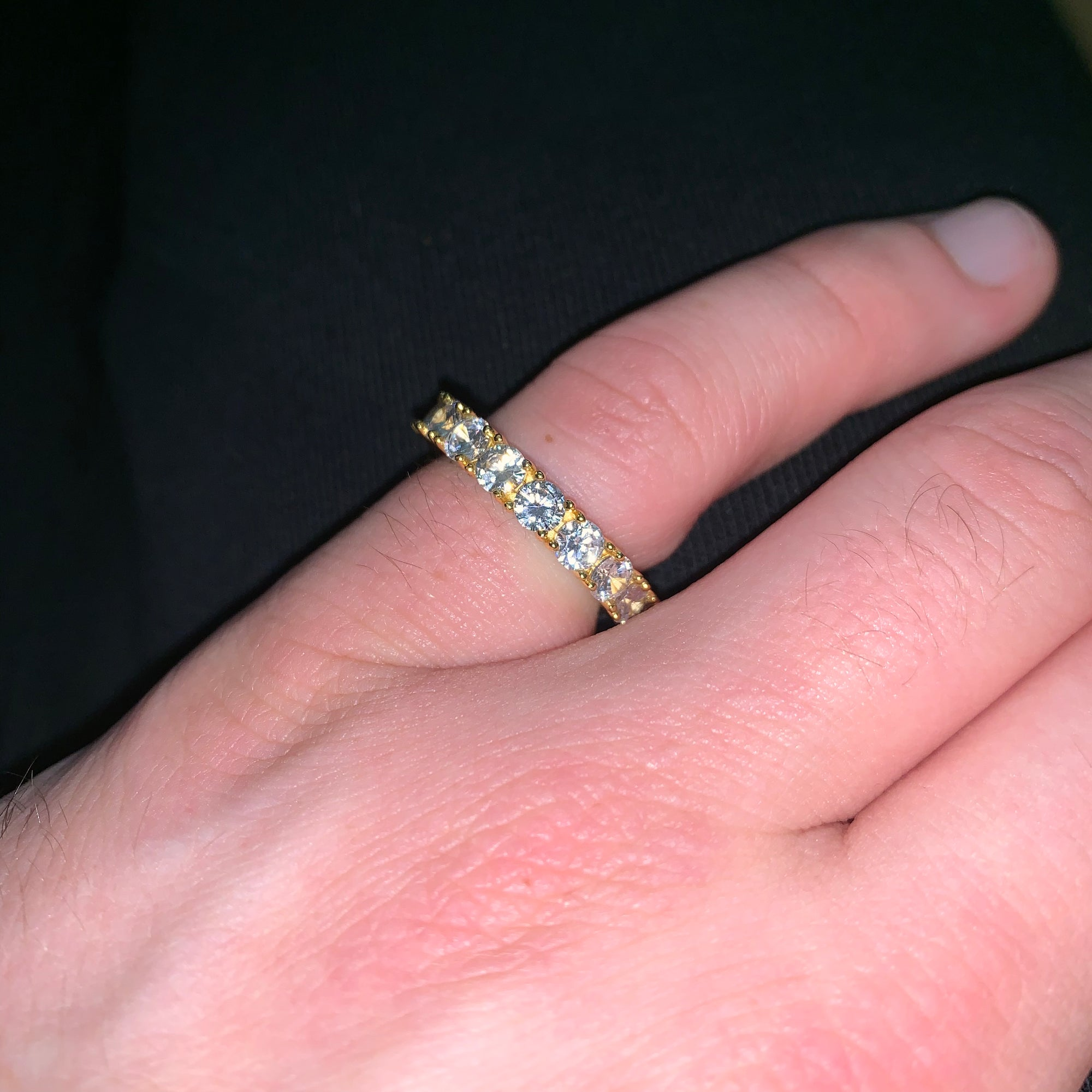 Eternity Ring in Gold