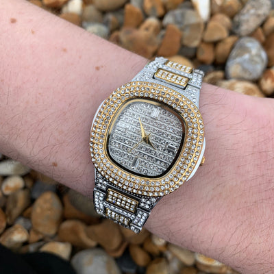 Buss Down Luxury Watch in 2 Tone