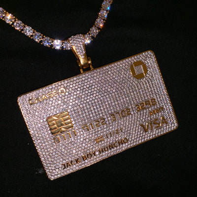 ICED Credit/Debit Card in Gold