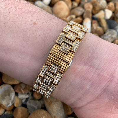 Buss Down Luxury Watch in Gold