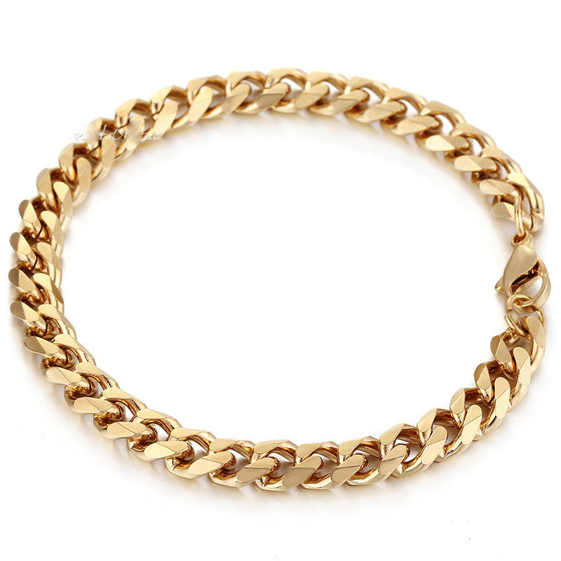 Ice Tray's Gold Cuban Link Bracelet