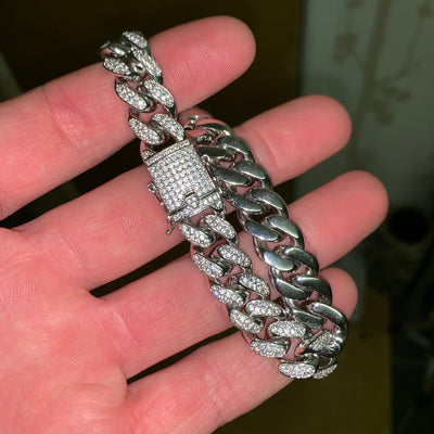 Flooded Out Cuban Bracelet